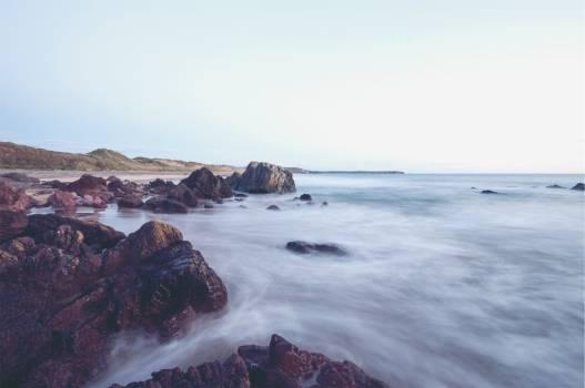 beach sand rocks  #22286