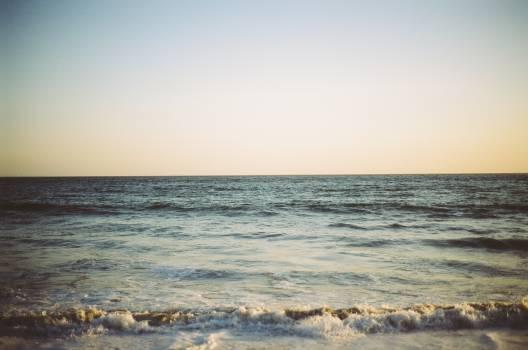 beach water waves  Free Photo