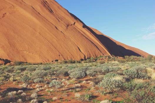 desert sand blue  Free Photo