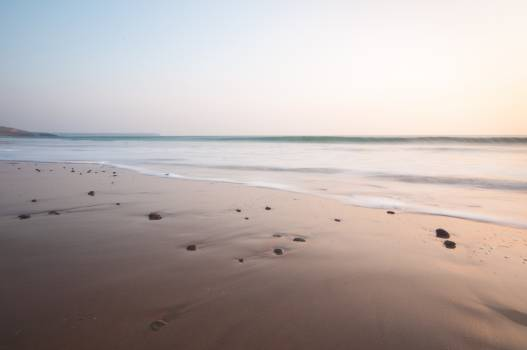 Beach Sand Ocean #223875