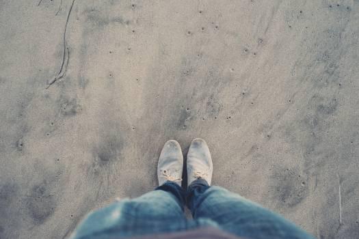 sand shoes pants  Free Photo