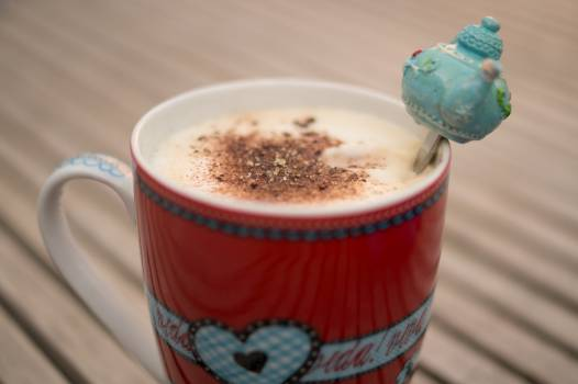 coffee latte cappuccino  Free Photo