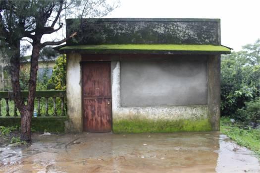 shack hut door  Free Photo