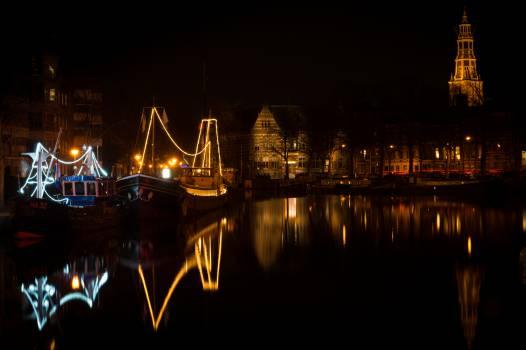 Groningen Netherlands night  #22485
