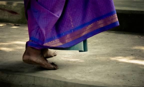 feet purple dress  #22498