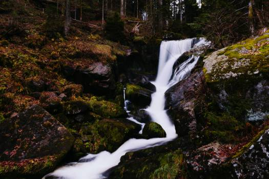 waterfall river stream  #22519