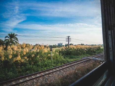 Track Landscape Railway Free Photo