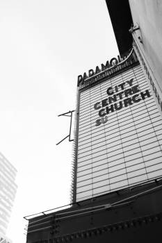 paramount theatre city centre church  Free Photo