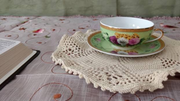 Linen Porcelain China Free Photo