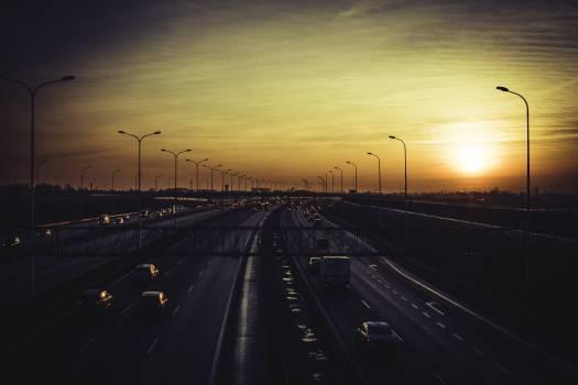 Expressway Track Road Free Photo