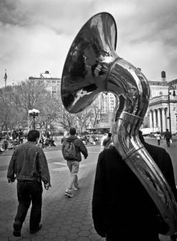 tuba horn instrument  #22577