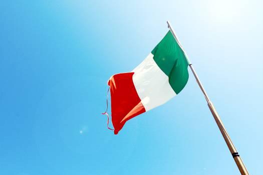 Italy Italian flag  Free Photo