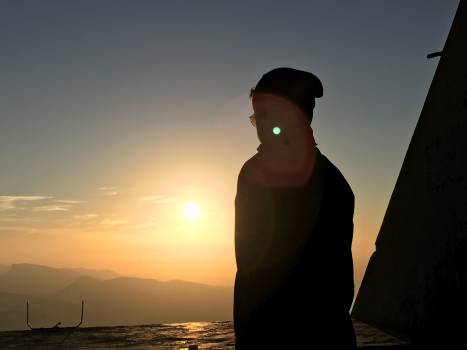 Sun Sunset Silhouette #225894