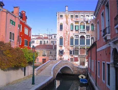 buildings apartments balconies  Free Photo