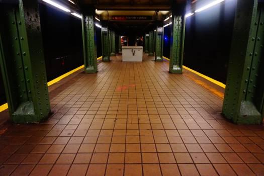 Train Subway train Subway station Free Photo