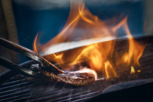 Fireplace Flame Fire Free Photo
