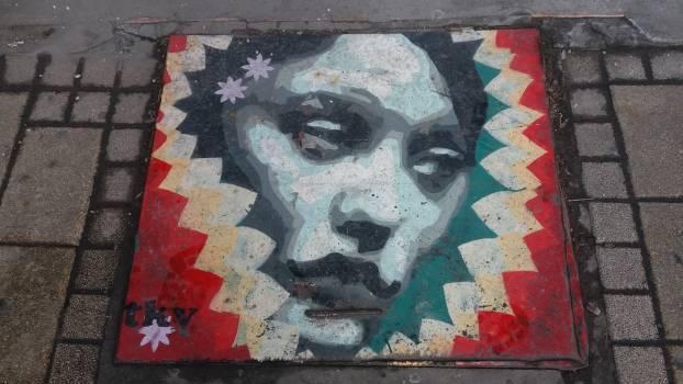 Graffito Decoration Drawing chalk Free Photo