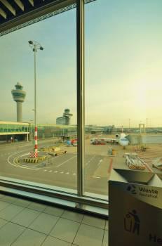 airport airplane travel  Free Photo