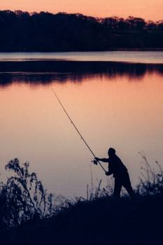 Fishing Rod Fisherman Free Photo