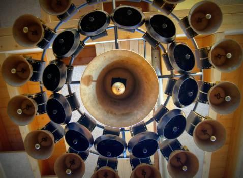 bells circle cowbell  #22702