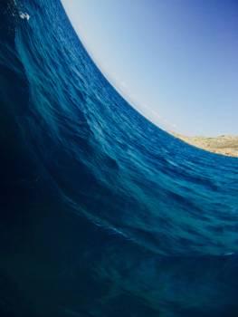 Marine Wave Light Free Photo