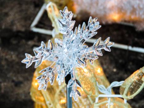 snowflake winter lights  #22764