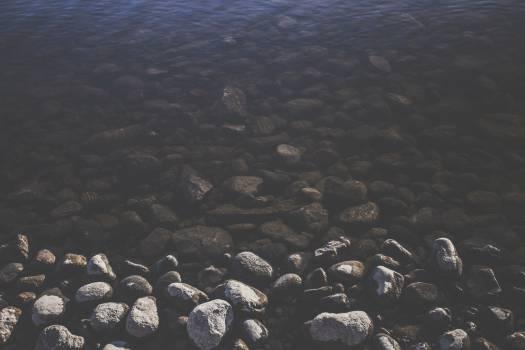 water rocks stones  #22772