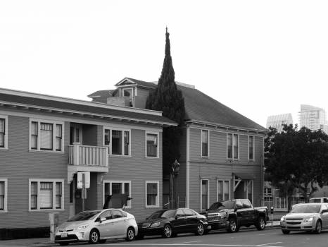 urban city housing  Free Photo