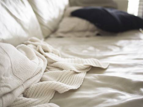 Bed Blanket Pillow #228024