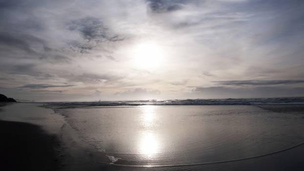 Ocean Body of water Sunset #228078