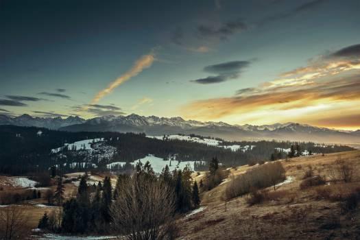 mountains cliffs hills  #22896