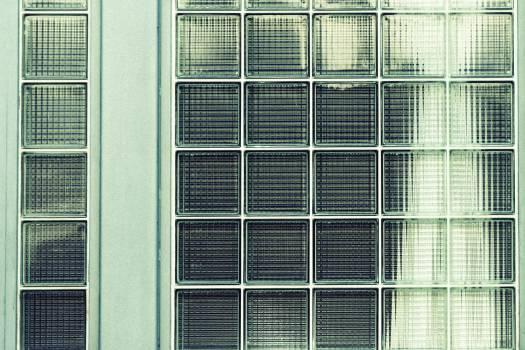 glass tile window  #22952