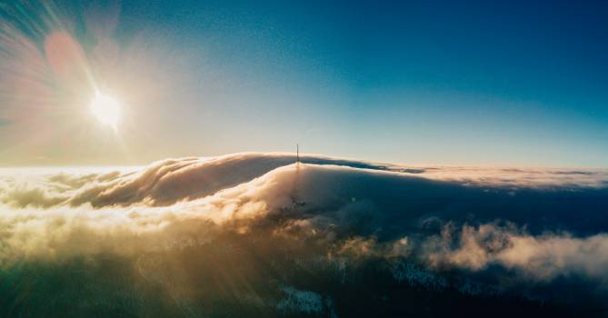 Sky Sun Wing Free Photo