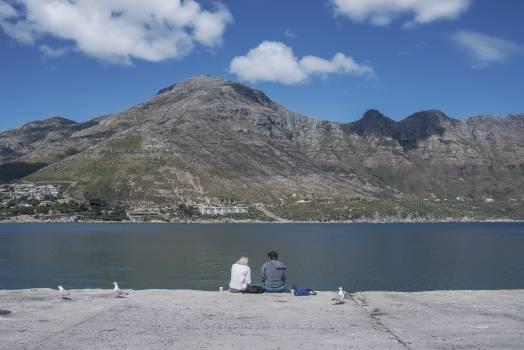 Lakeside Landscape Mountain #230704