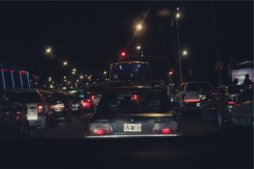 cars traffic lights  #23081