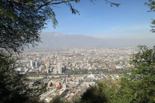 San Cristóbal Hill Santiago Chile  Free Photo