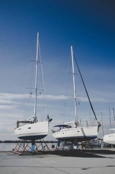 Catamaran Sailboat Vessel Free Photo