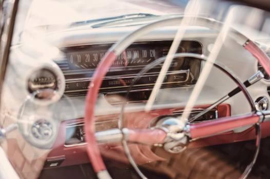 Steering wheel Car Cockpit Free Photo