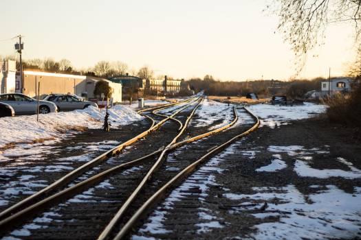 Track Railway Railroad Free Photo