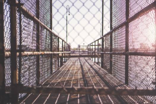 fence cage bridge  #23108
