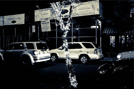 cars traffic night  Free Photo