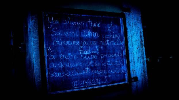 Blackboard Sheet Chalk Free Photo