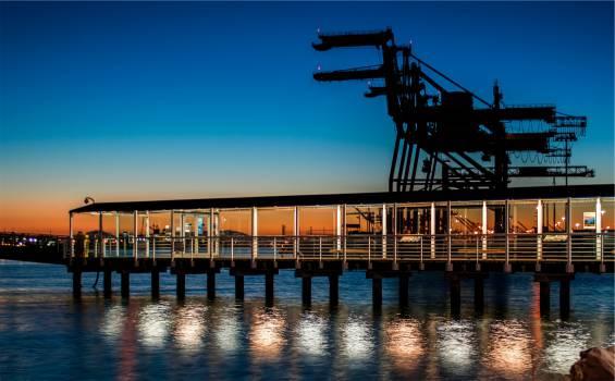 pier dock ferry  Free Photo