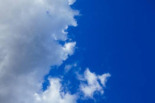 blue sky clouds  #23193