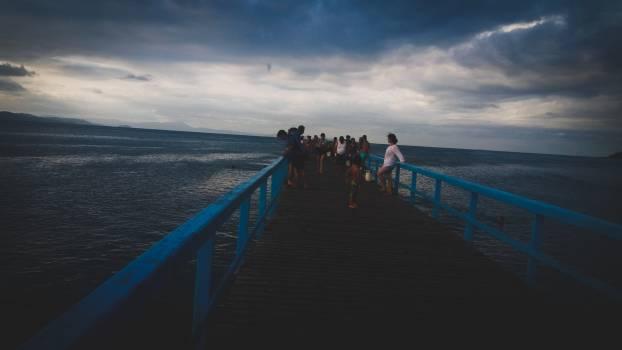 Pier Breakwater Sea Free Photo
