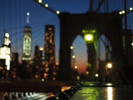 City Night Architecture Free Photo