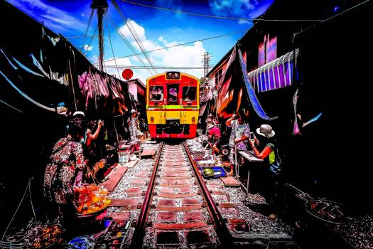 Station Platform Transportation #232640