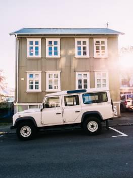 white suv truck  #23274