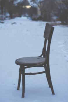 chair winter snow  #23289