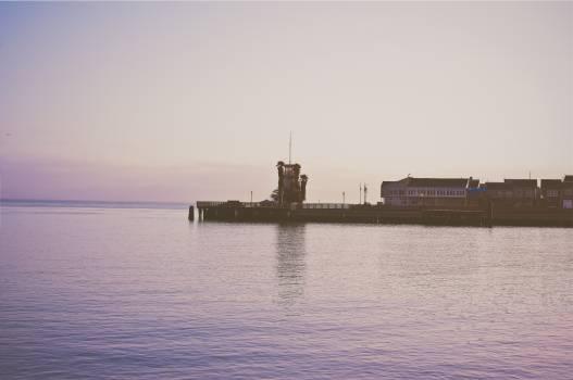 pier ocean sea  #23291
